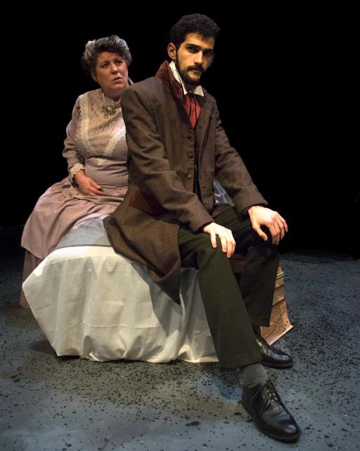 Tanja Dixon-Warren and Francis Winter Credit: Nancy Caldwell